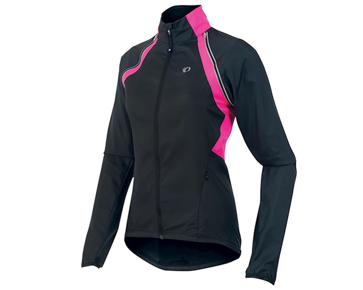 Pearl Izumi Barrier Women's Convertible Bike Jacket (Black/Yellow/Pink) (XS)