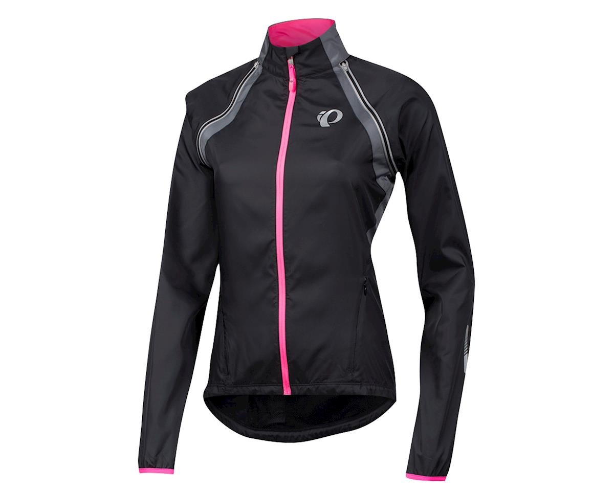 Pearl Izumi Women's Elite Barrier Convertible Jacket (Blk/Pearl)