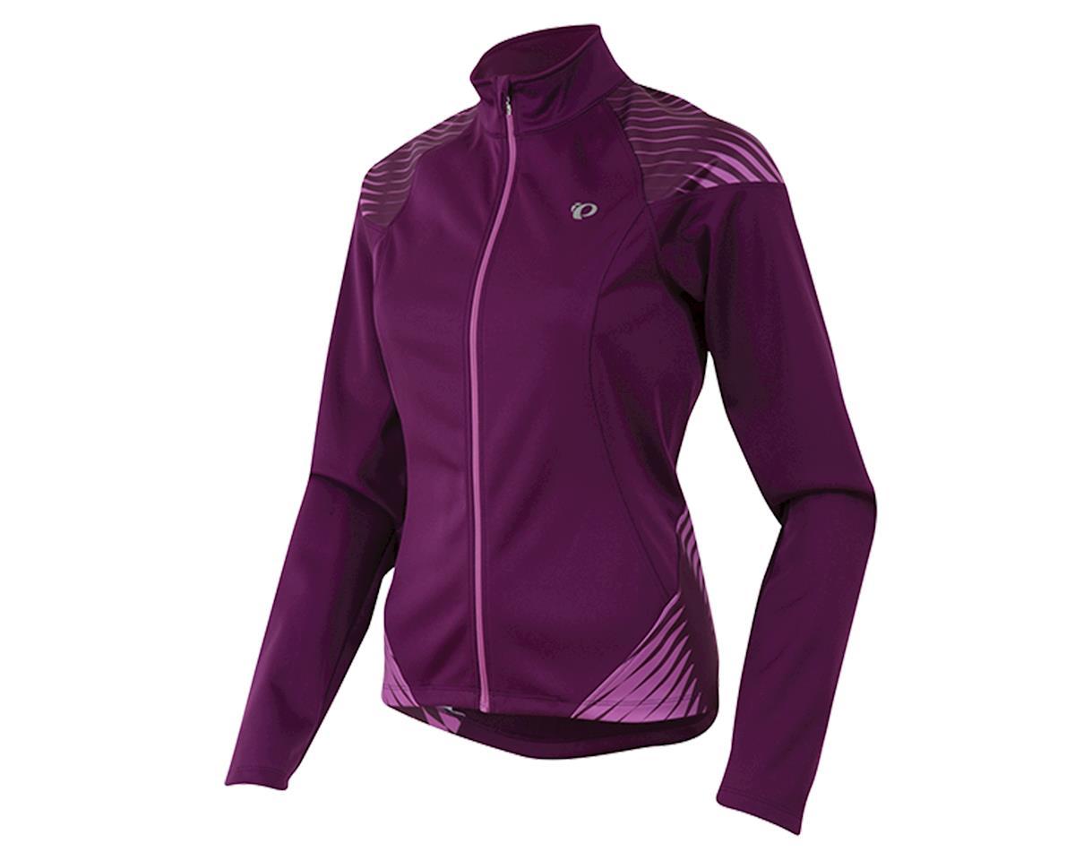 Pearl Izumi Elite Softshell 180 Women's Bike Jacket (Dark Purple) (XL)