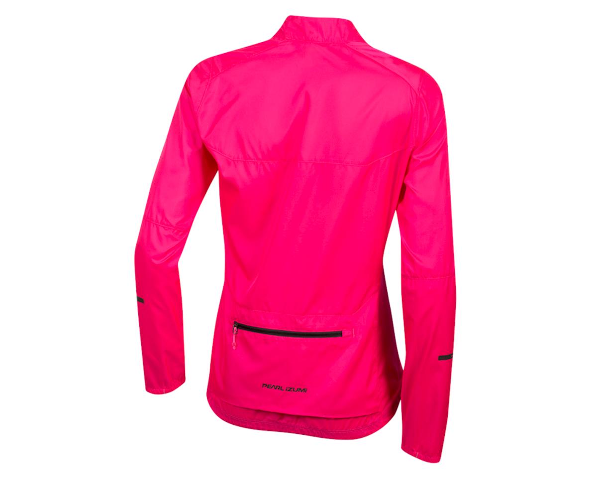 Image 2 for Pearl Izumi Women's Elite Escape Barrier Jacket (Screaming Pink) (L)