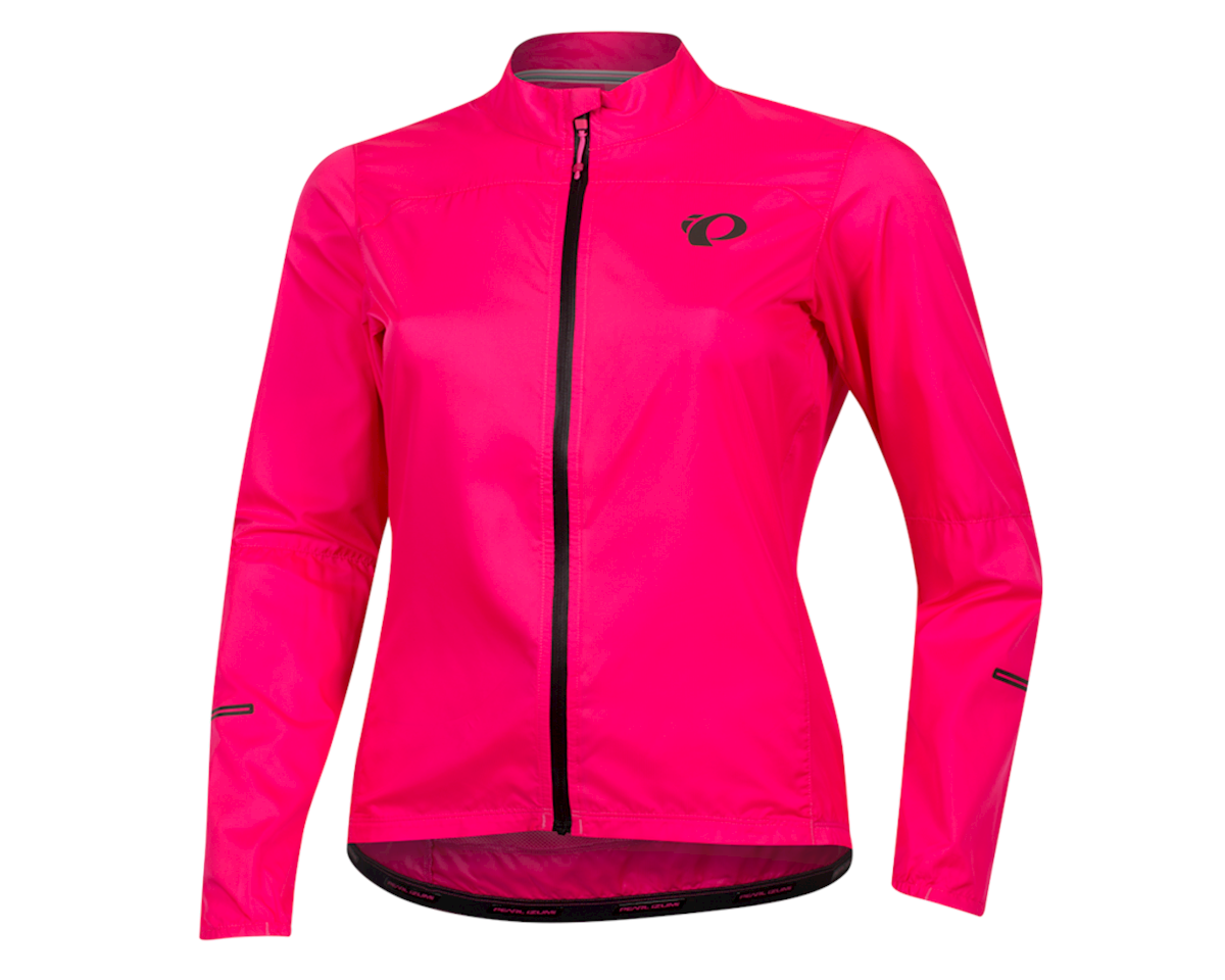 Pearl Izumi Women's Elite Escape Barrier Jacket (Screaming Pink) (XL)