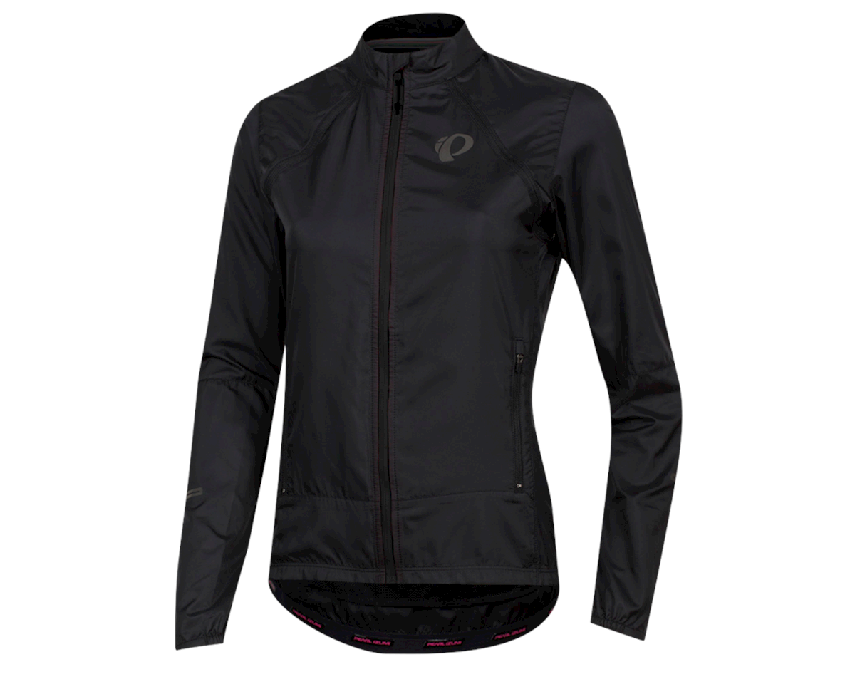 Pearl Izumi Women's Elite Escape Convertible Jacket (Black) (L)
