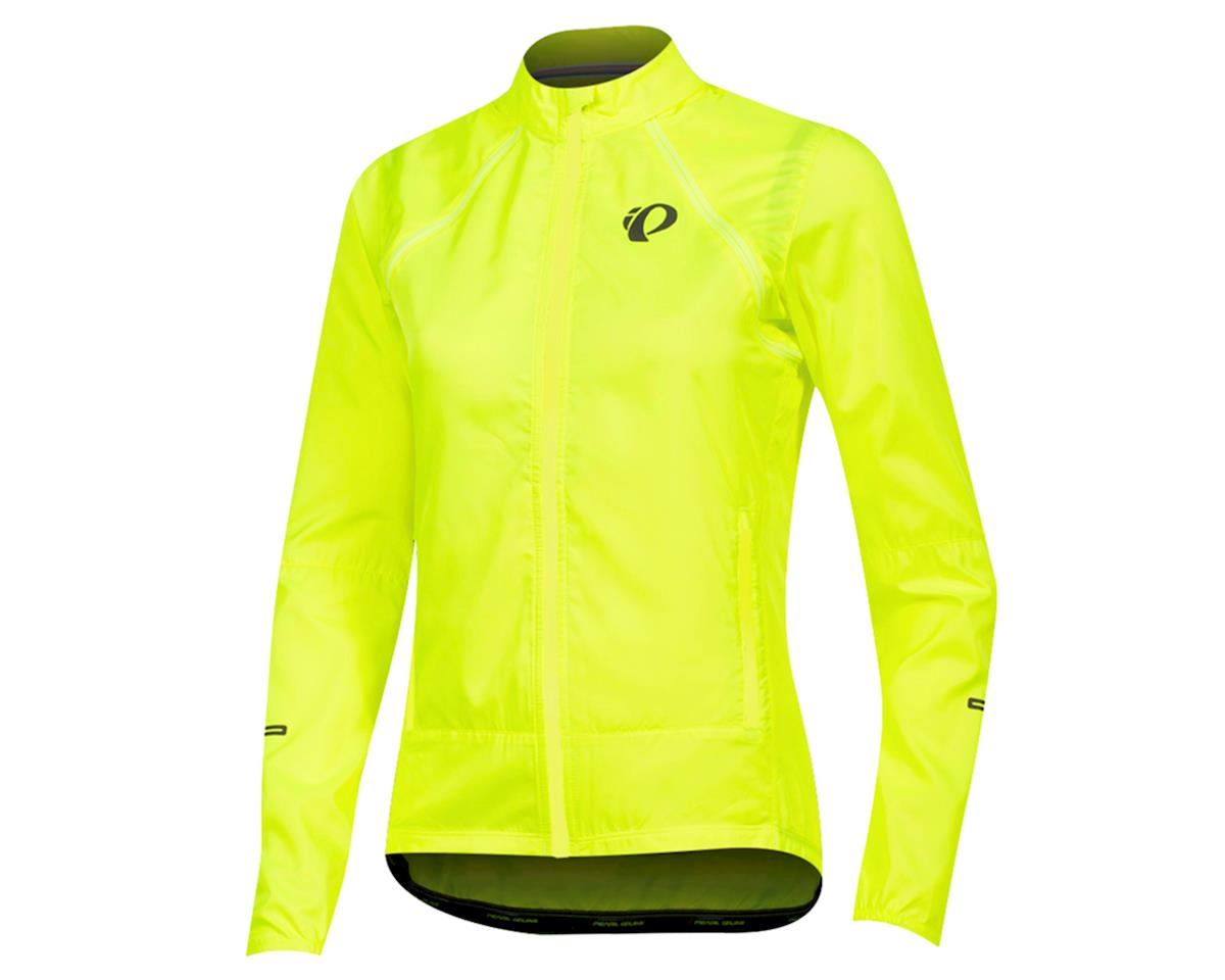 Pearl Izumi Women's Elite Escape Convertible Jacket (Screaming Yellow) (L)