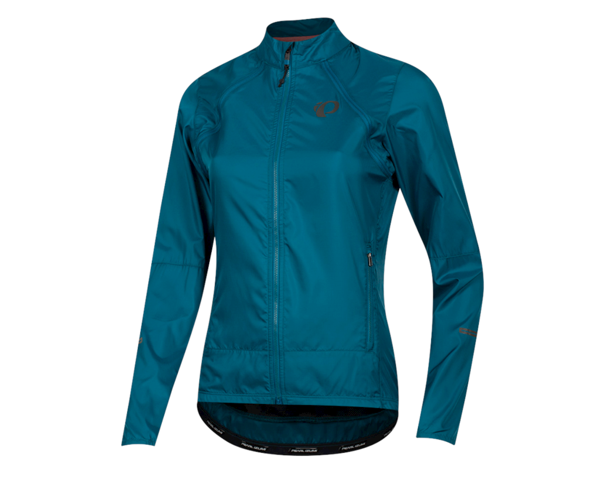 Pearl Izumi Women's Elite Escape Convertible Jacket (Teal) (L)