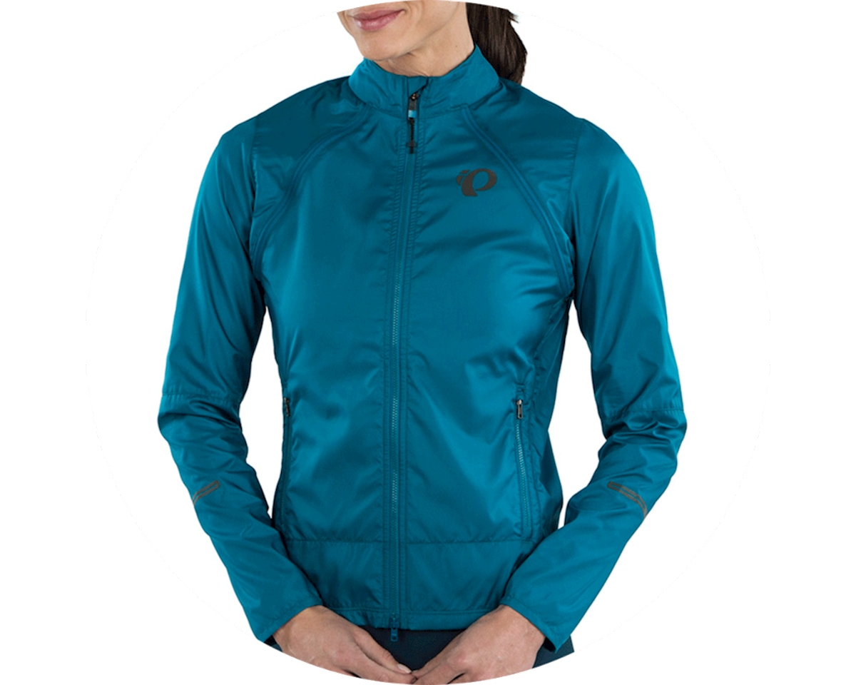 Pearl Izumi Women's Elite Escape Convertible Jacket (Teal) (L)