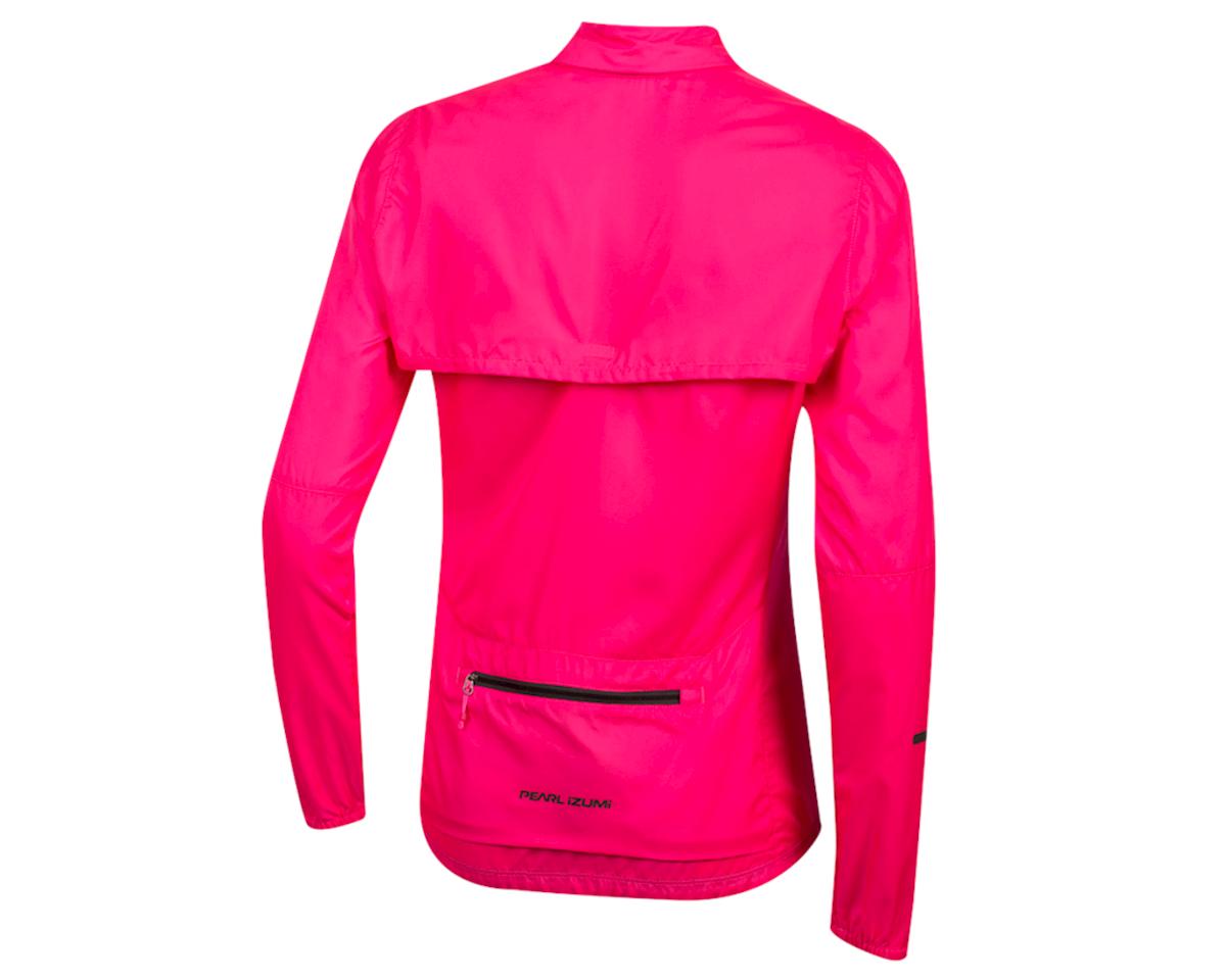 Pearl Izumi Women's Elite Escape Convertible Jacket (Screaming Pink) (L)