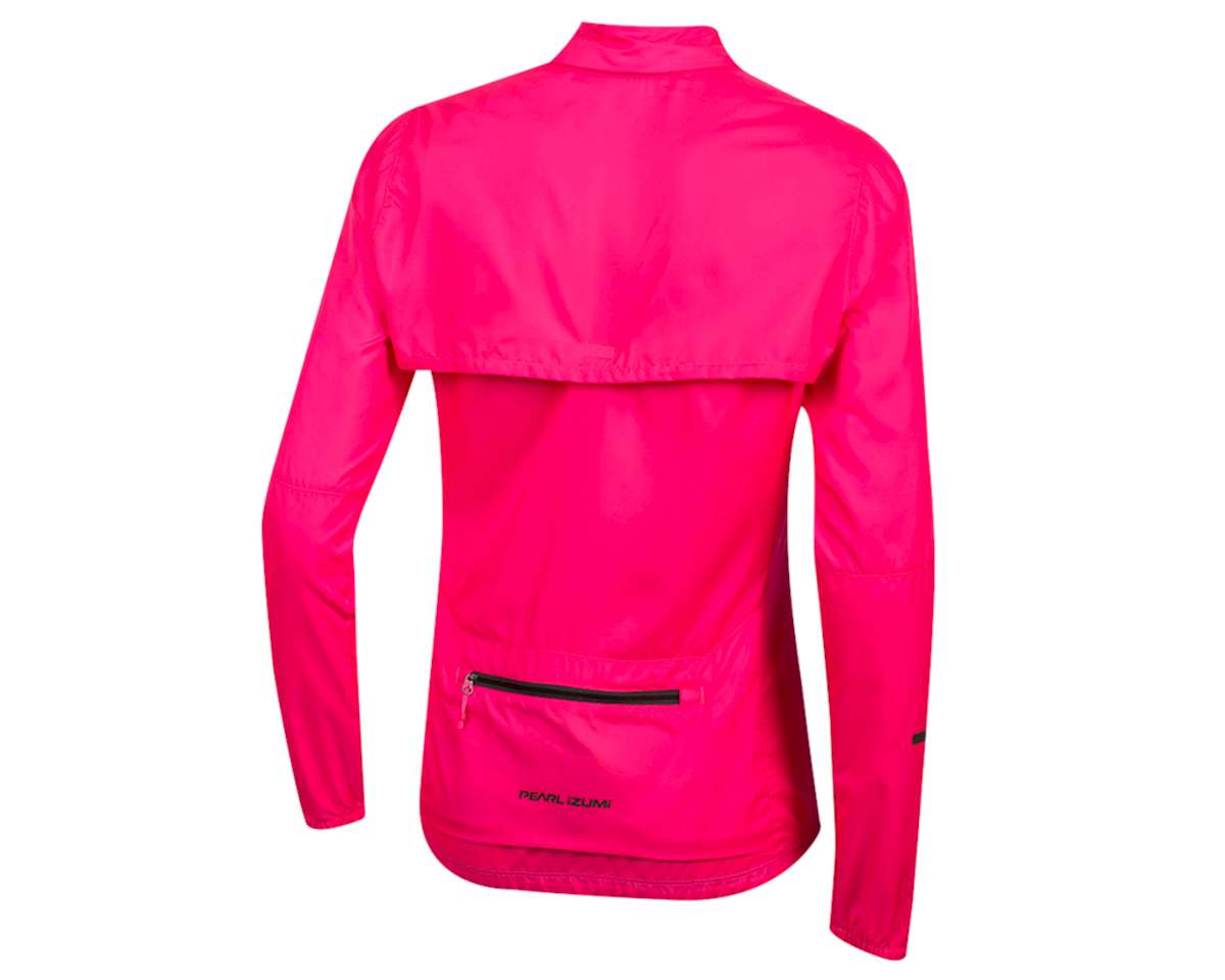Pearl Izumi Women's Elite Escape Convertible Jacket (Screaming Pink) (XL)
