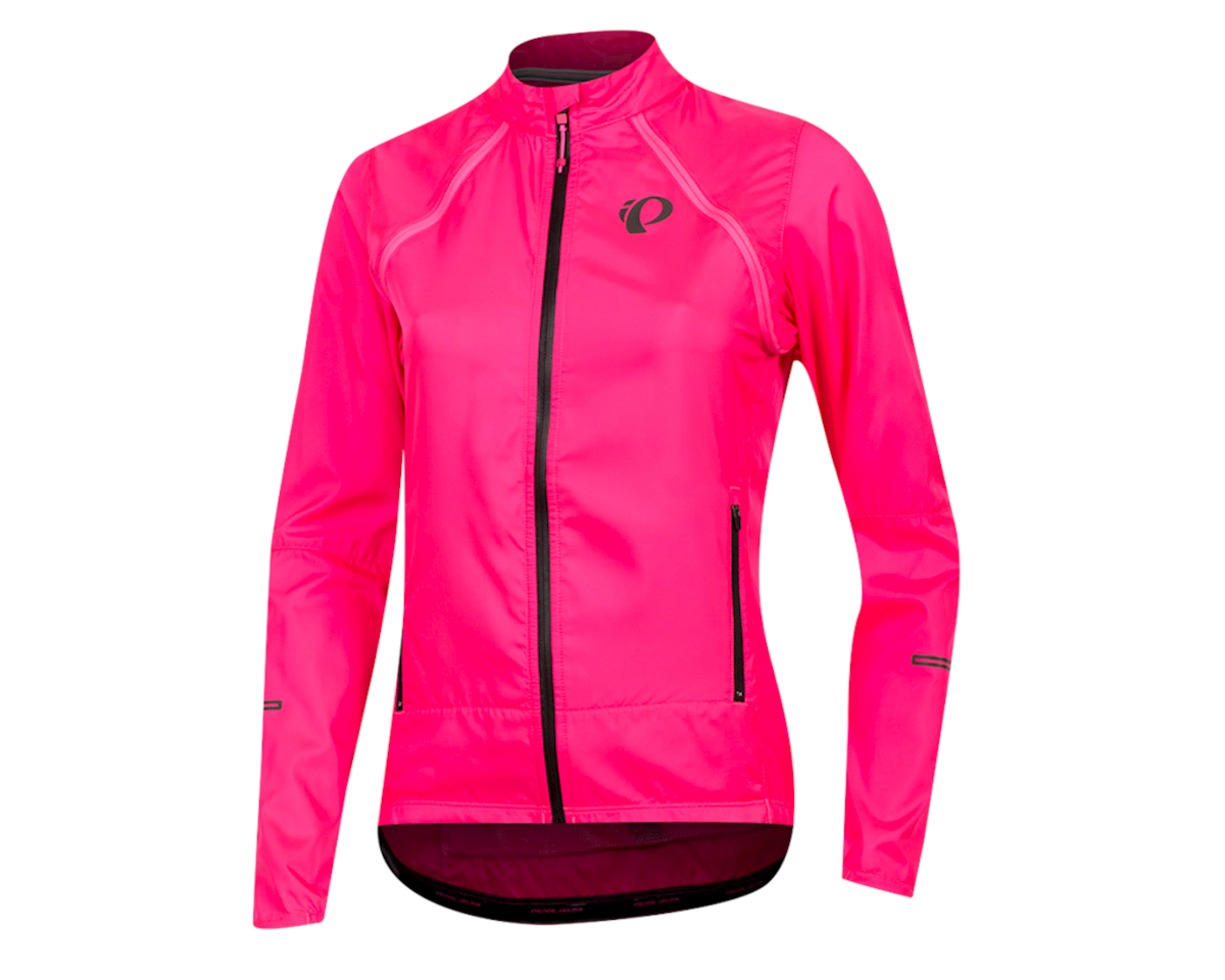 Pearl Izumi Women's Elite Escape Convertible Jacket (Screaming Pink) (2XL)