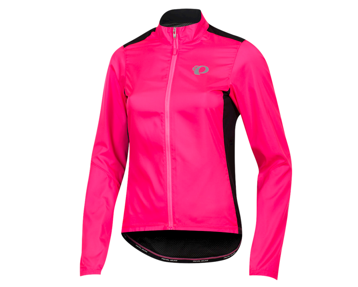 Pearl Izumi Women's Elite Pursuit Hybrid Jacket (Screaming Pink/Black)