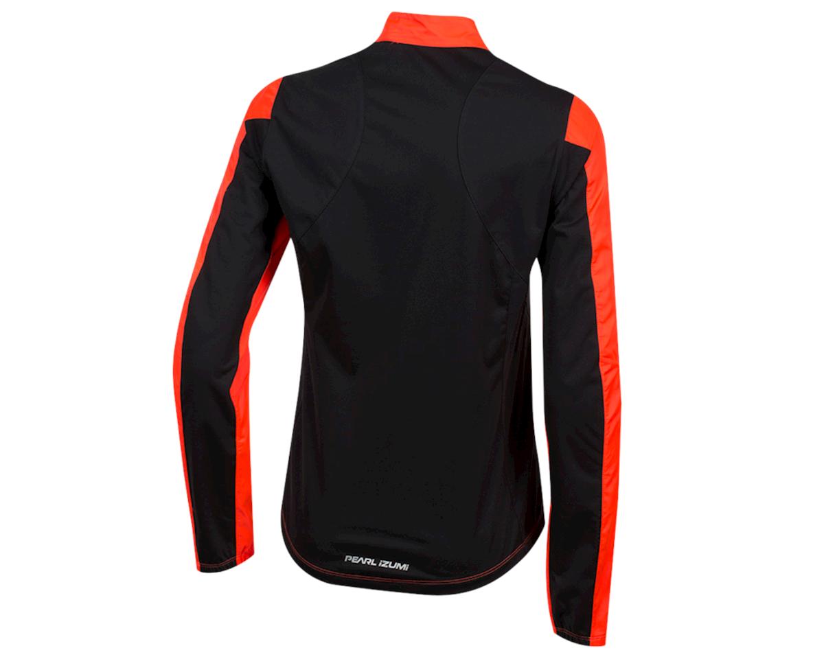 Image 2 for Pearl Izumi Women's Elite Pursuit Hybrid Jacket (Fiery Coral/Black) (XL)