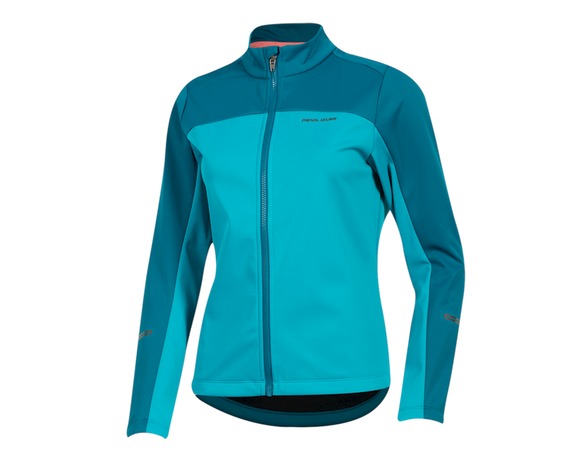 Pearl Izumi Women's Quest AmFIB Jacket (Breeze/Teal) (L)