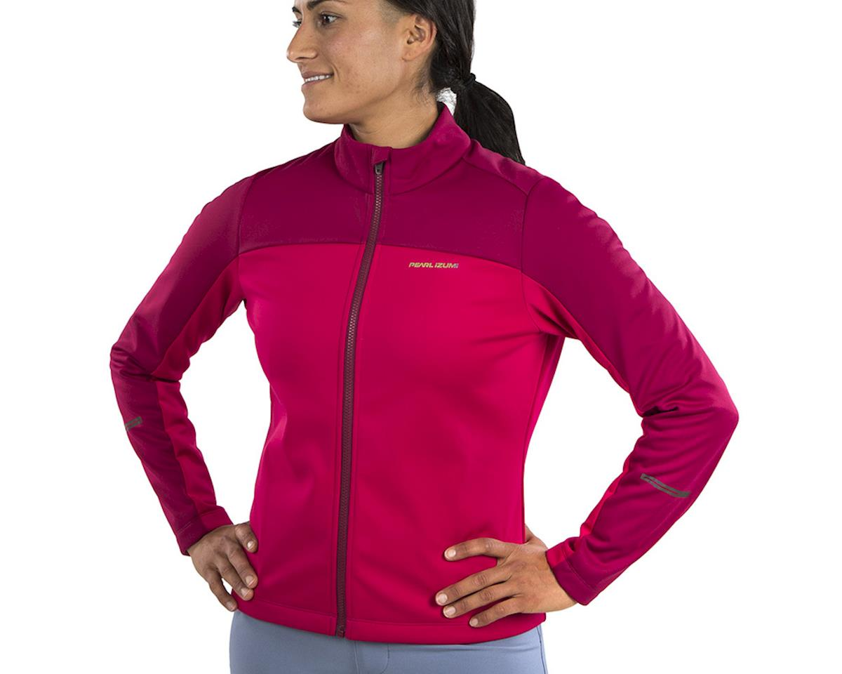 Image 3 for Pearl Izumi Women's Quest AmFIB Jacket (Beet Red) (XS)