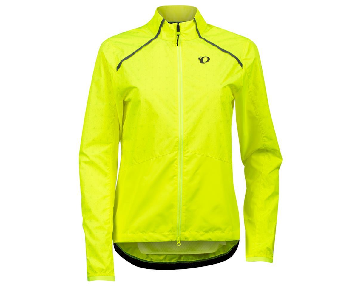 Pearl Izumi Women's Bioviz Barrier Jacket (Screaming Yellow/Reflective Deco) (L)