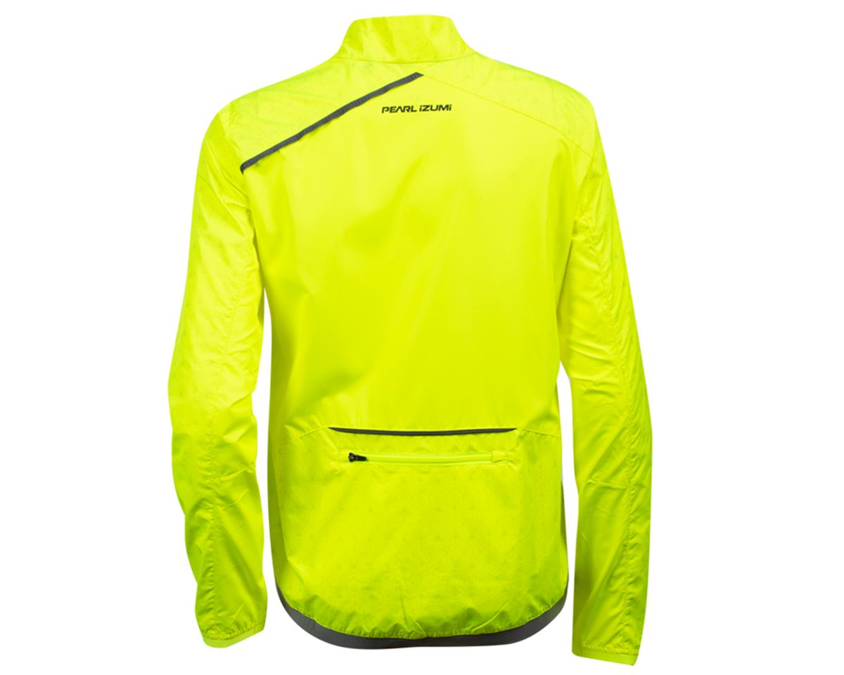 Image 2 for Pearl Izumi Women's Bioviz Barrier Jacket (Screaming Yellow/Reflective Deco) (XL)