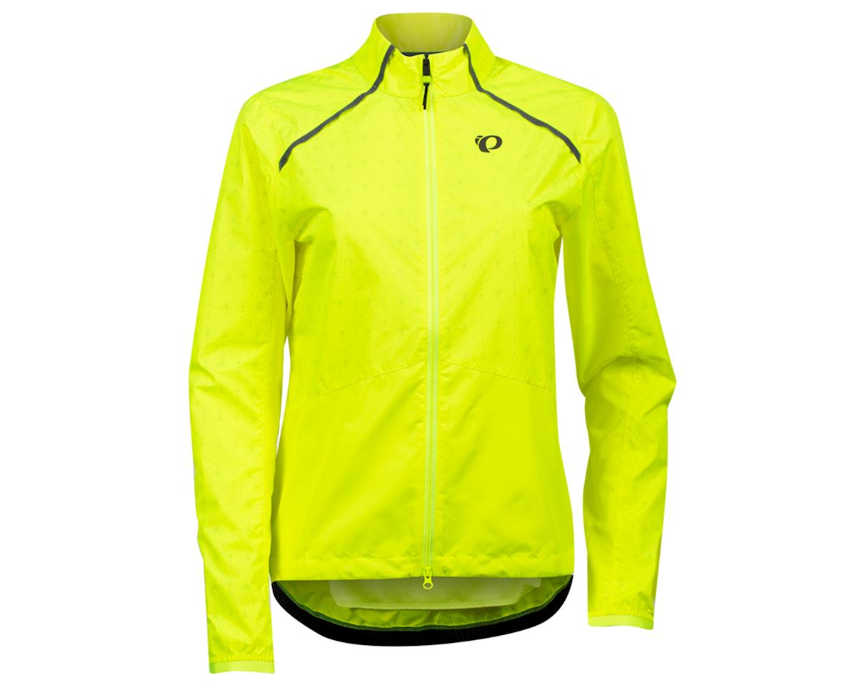 Image 1 for Pearl Izumi Women's Bioviz Barrier Jacket (Screaming Yellow/Reflective Deco) (2XL)
