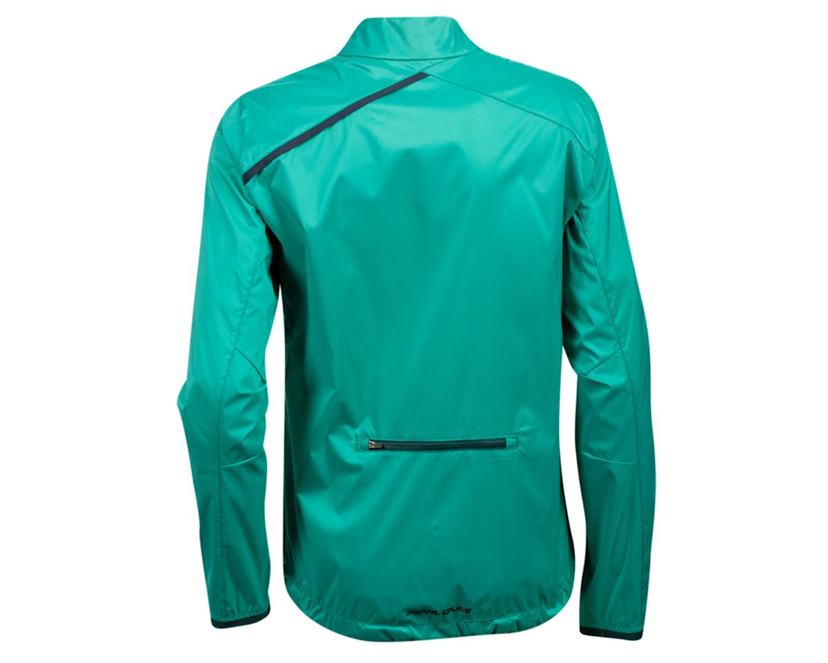 Image 2 for Pearl Izumi Women's Zephrr Barrier Jacket (Malachite/Pine) (2XL)