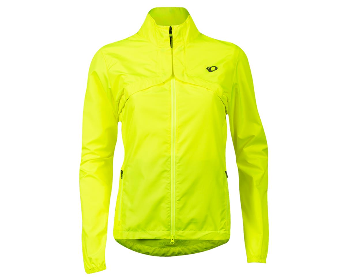 Pearl Izumi Women's Quest Barrier Convert. Jacket (Screaming Yellow/Turbulence)