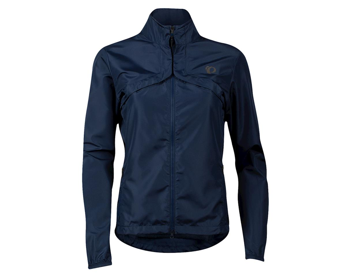 Image 1 for Pearl Izumi Women's Quest Barrier Convertable Jacket (Navy/Air) (XL)