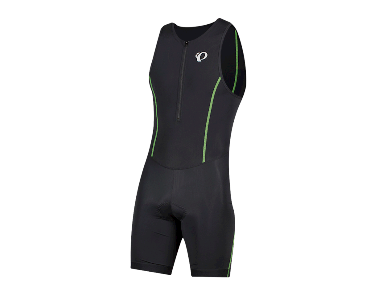 Pearl Izumi Select Pursuit Tri Suit (Black/Screaming Green) (M)