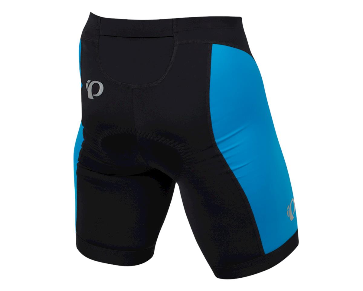 Pearl Izumi Select Pursuit Tri Shorts (Black/Atomic Blue) (XS)