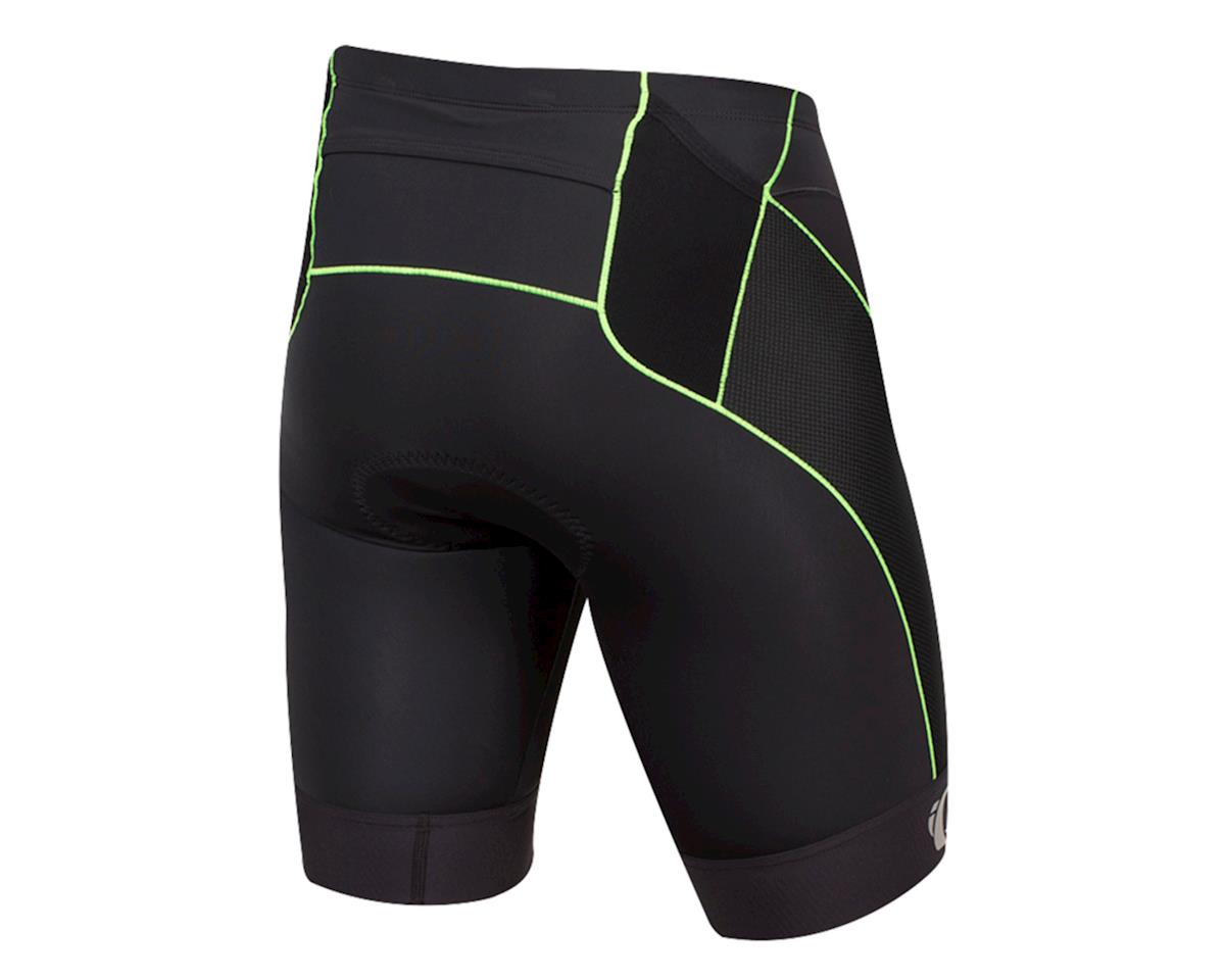 Pearl Izumi Elite Tri Short (Black/Screaming Green) (M)