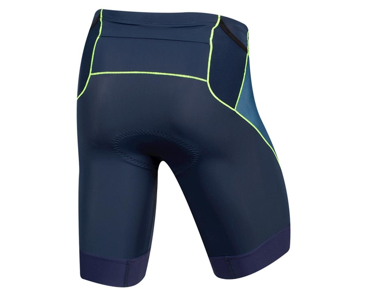 Pearl Izumi Elite Tri Shorts (Navy/Screaming Yellow) (XS)