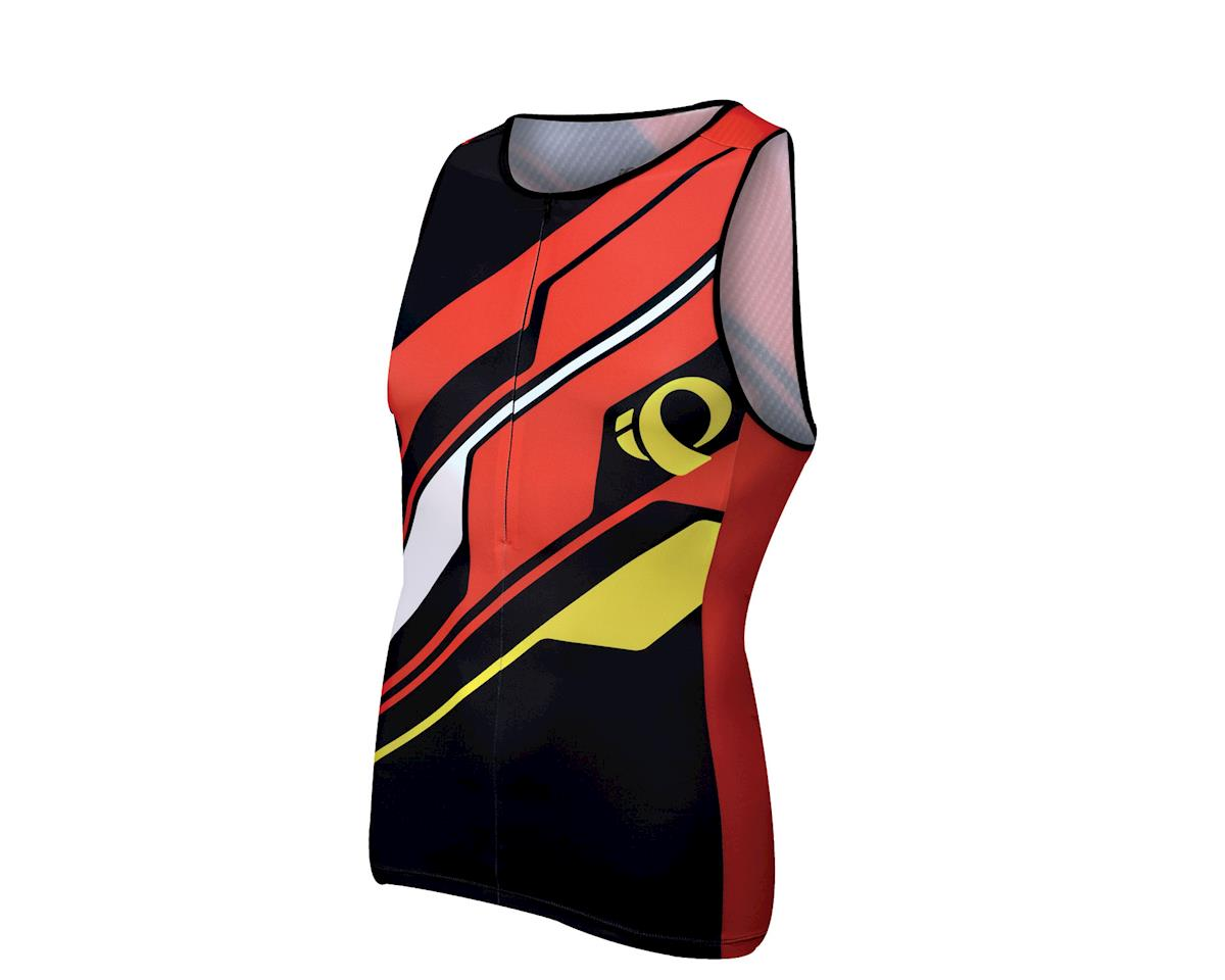 Pearl Izumi Elite In-R-Cool LTD Tri Singlet (Black/Red)