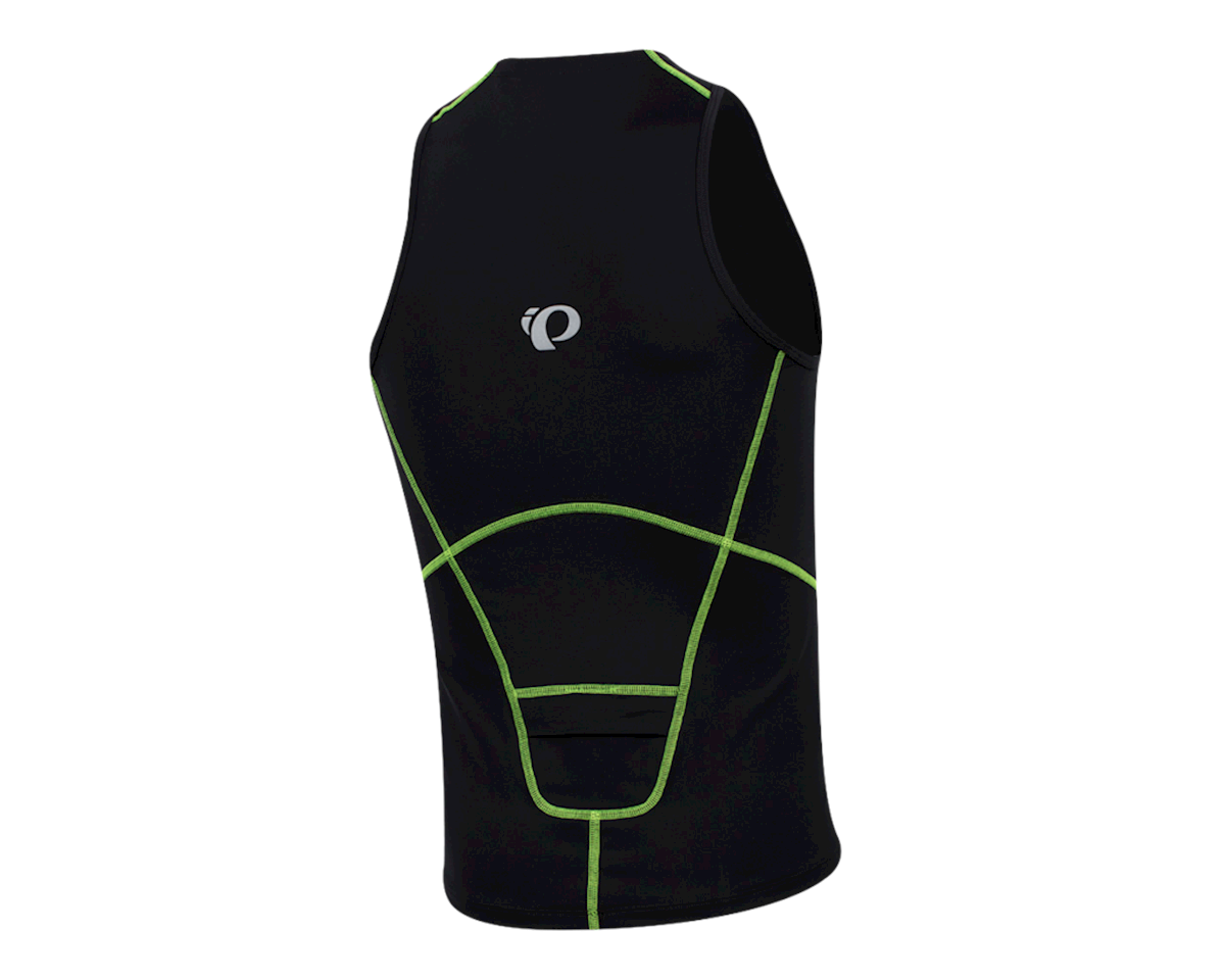 Pearl Izumi Men's Select Pursuit Tri Singlet (Black/Screaming Yellow)