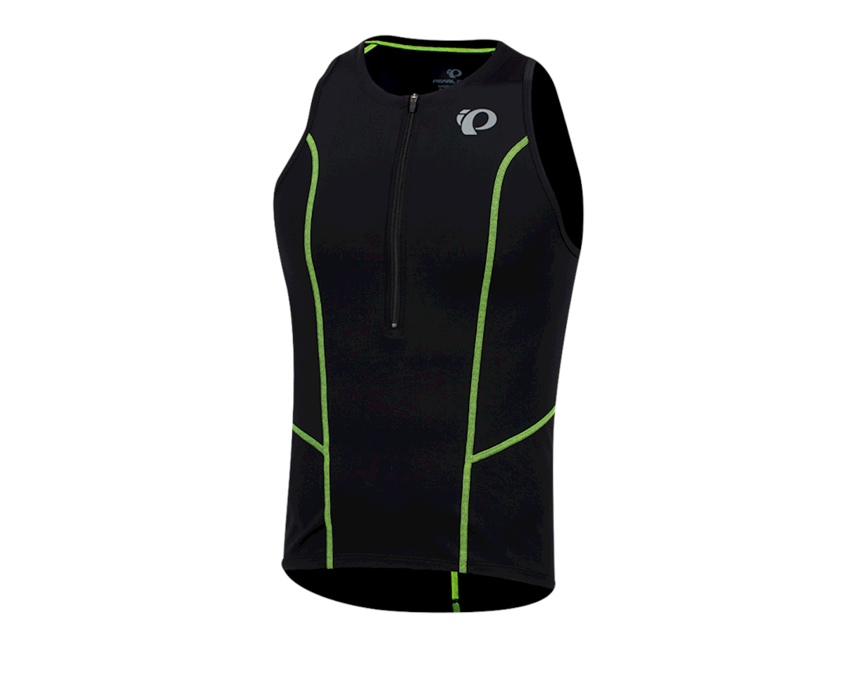 Image 1 for Pearl Izumi Select Pursuit Tri Singlet (Black/Screaming Yellow) (S)