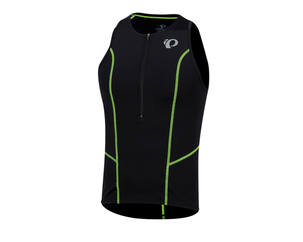 Image 1 for Pearl Izumi Select Pursuit Tri Singlet (Black/Screaming Yellow) (XS)