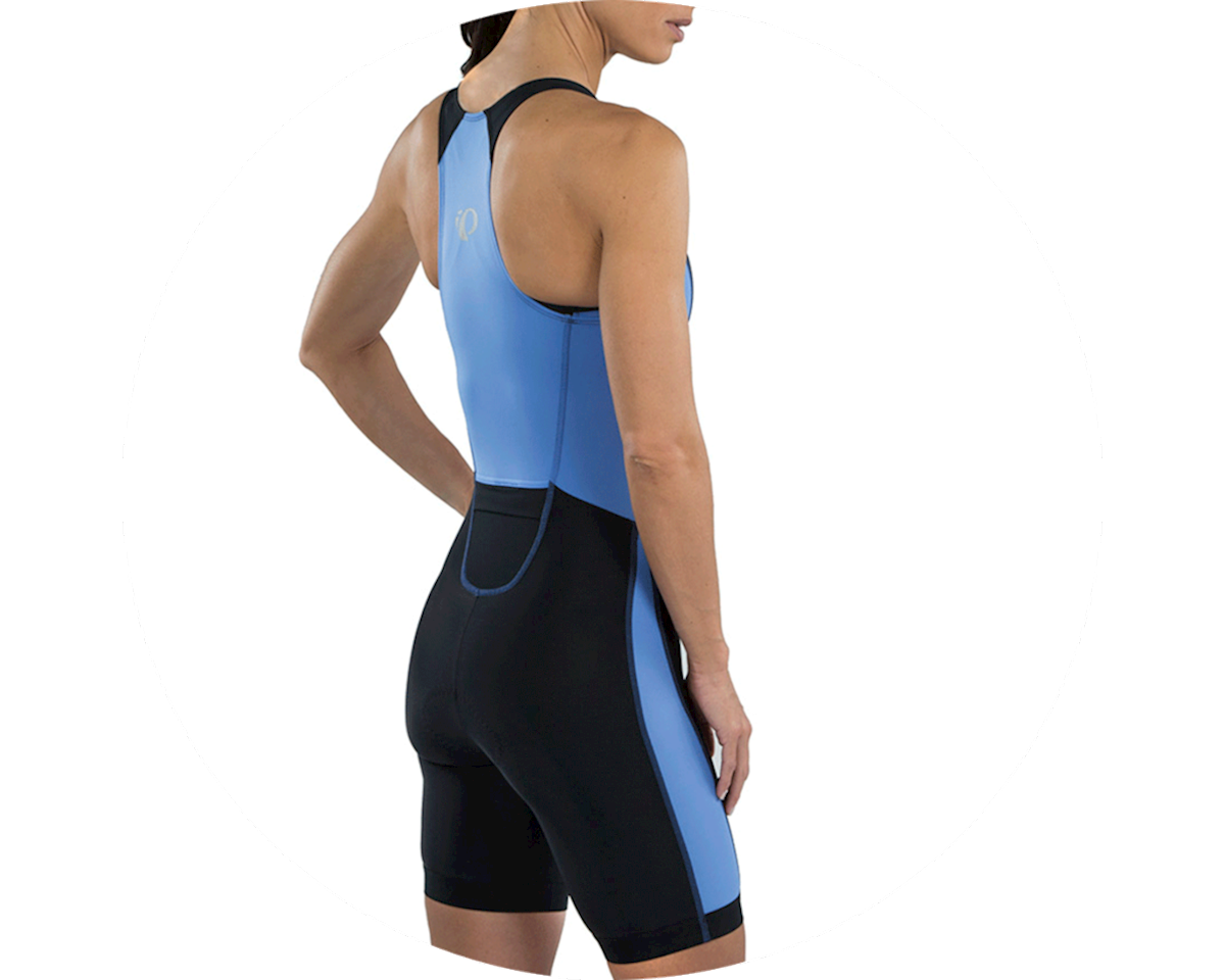 Pearl Izumi Women's Select Pursuit Tri Suit (Black/Lavender) (S)
