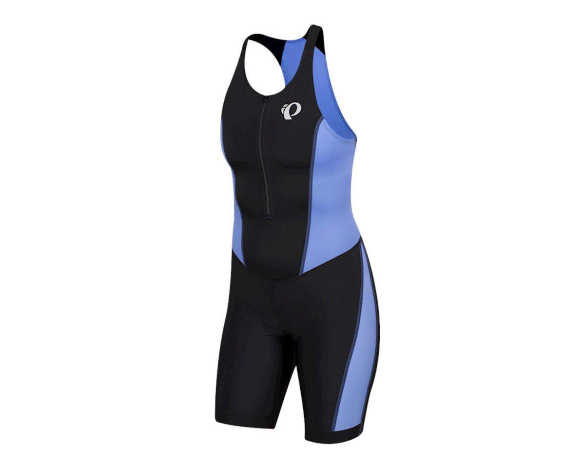 Pearl Izumi Women's Select Pursuit Tri Suit (Black/Lavender) (2XL)