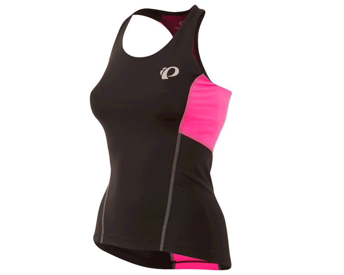 Pearl Izumi Women's Select Pursuit Tri Tank (Black/Screaming Pink) (XL)
