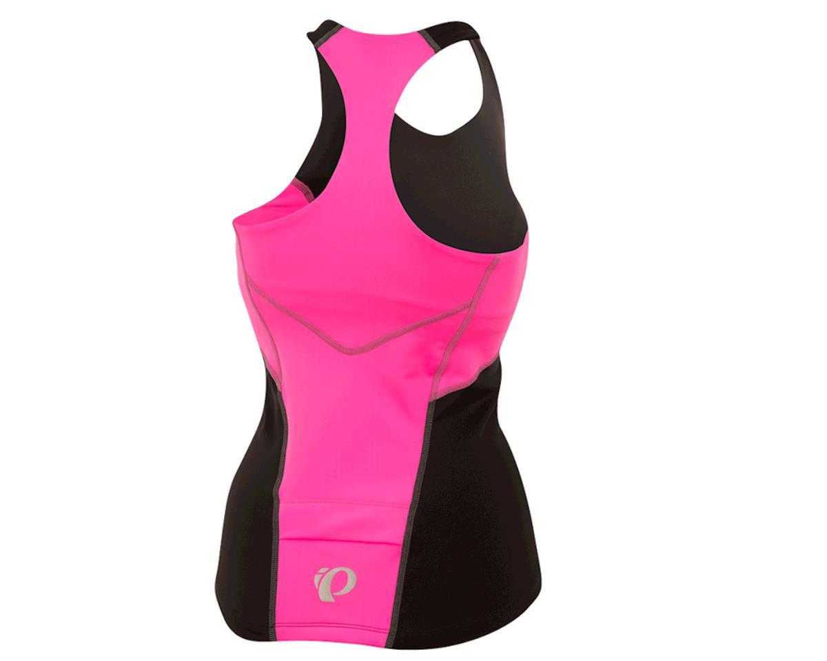 Image 2 for Pearl Izumi Women's Select Pursuit Tri Tank (Black/Screaming Pink) (XL)