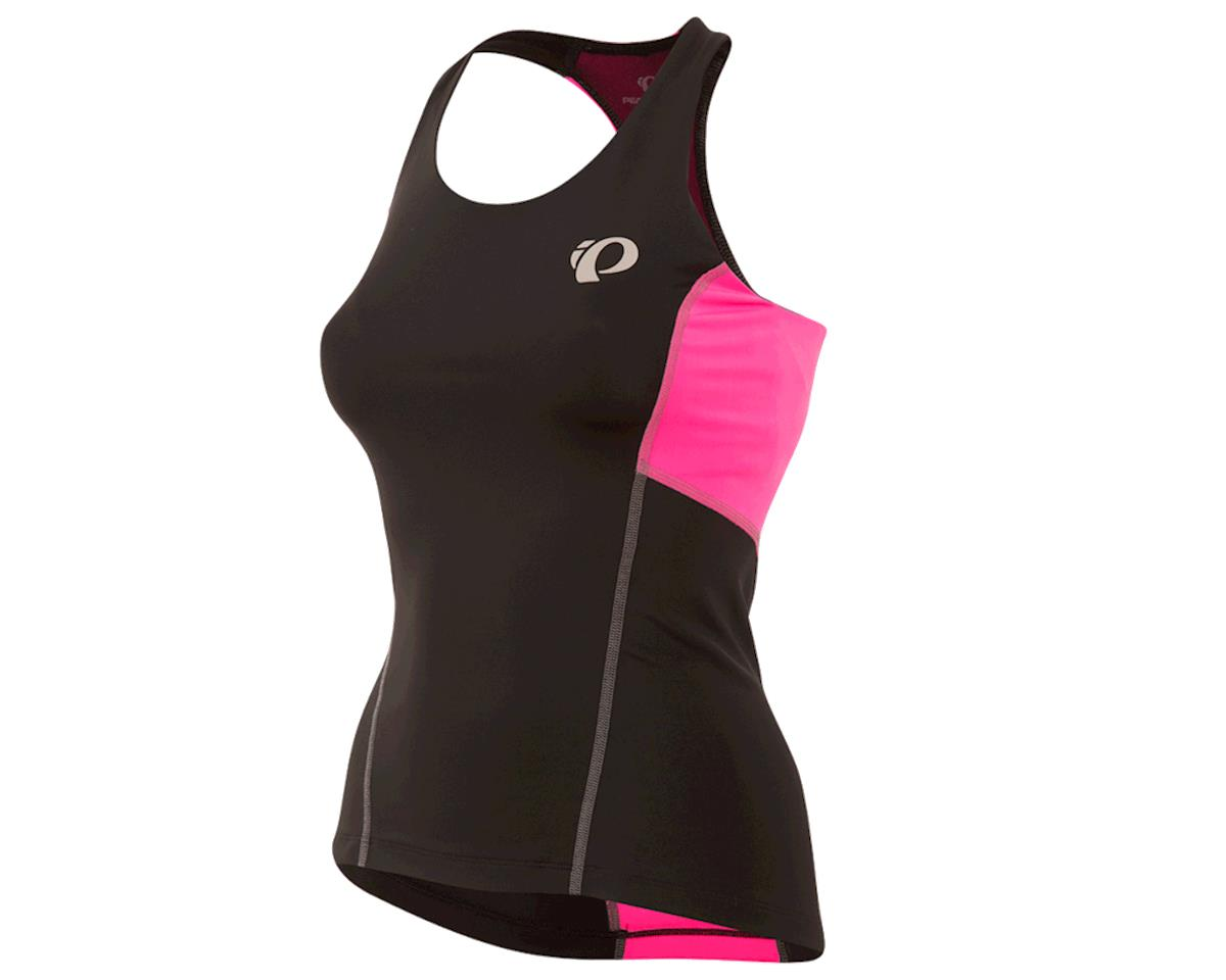 Pearl Izumi Women's Select Pursuit Tri Tank (Black/Screaming Pink) (2XL)