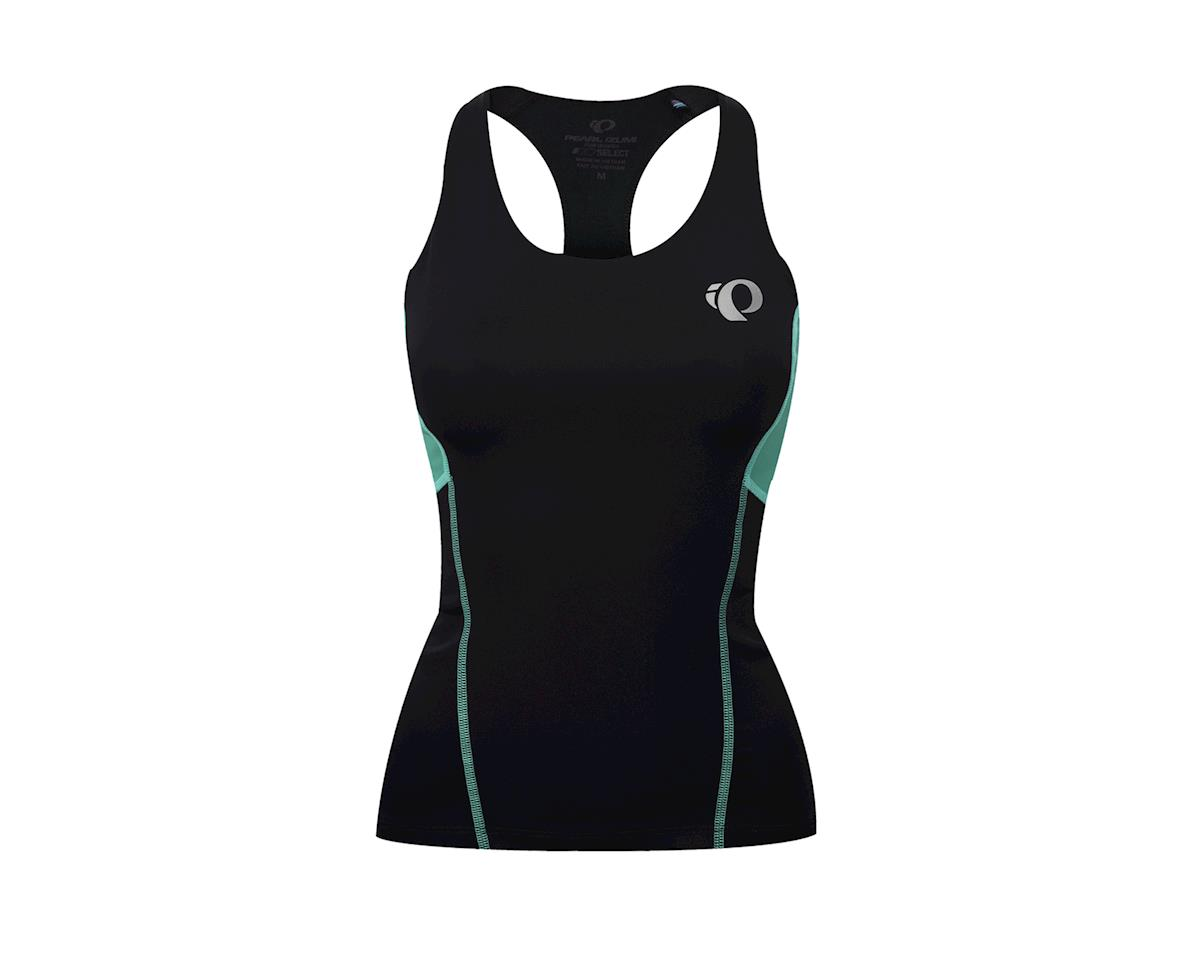 Image 2 for Pearl Izumi Women's Select Pursuit Tri Tank (Black/Aqua Mint)