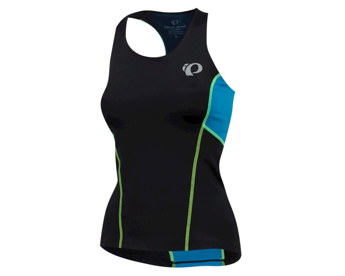 Pearl Izumi Women's Select Pursuit Tri Tank (Black/Atomic Blue) (XL)