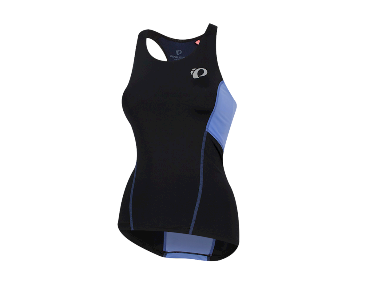 Pearl Izumi Women's Select Pursuit Tri Tank (Black/Lavender) (XL)