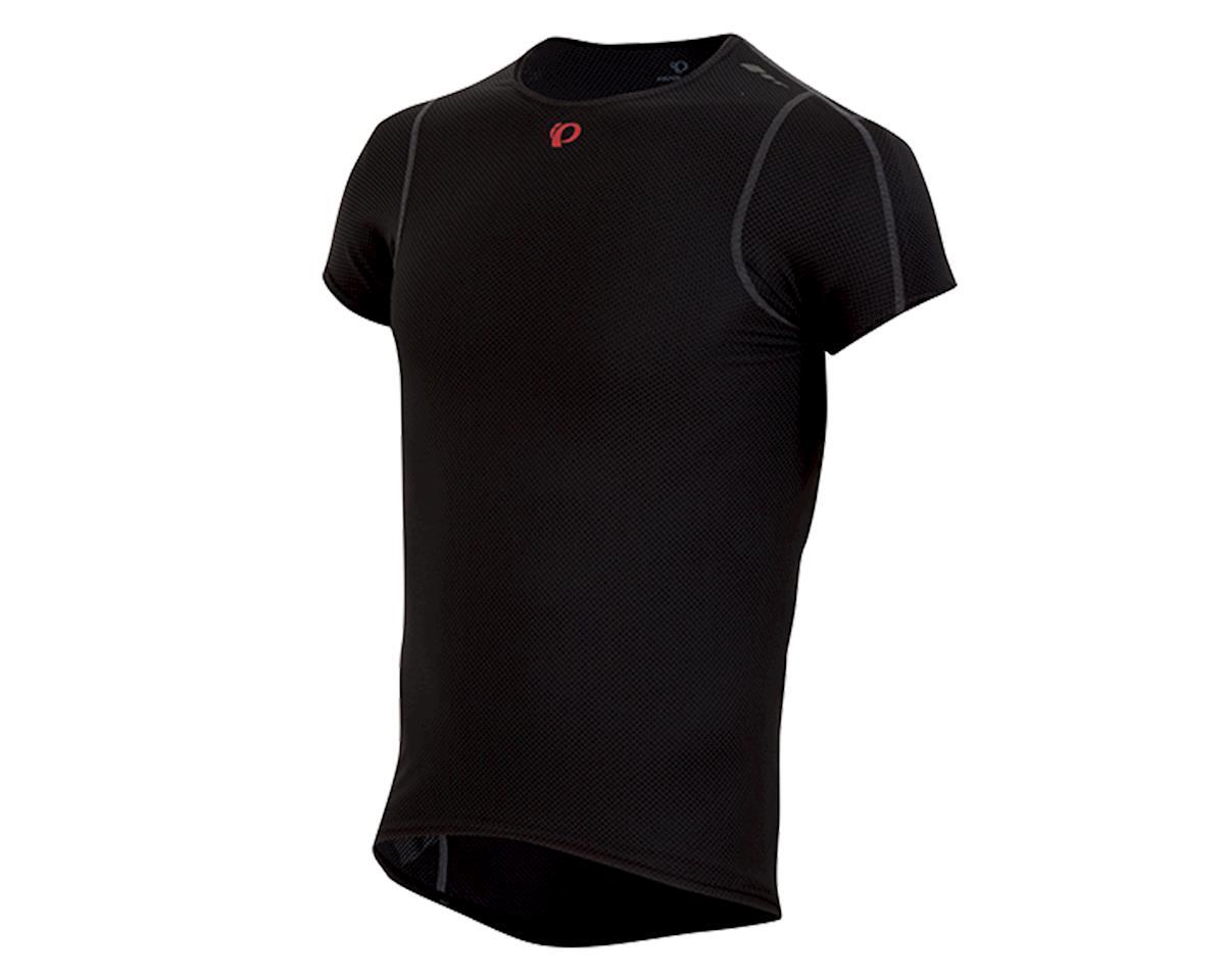 Pearl Izumi Transfer Lite Short Sleeve Cycling Base Layer (Black) (XL)