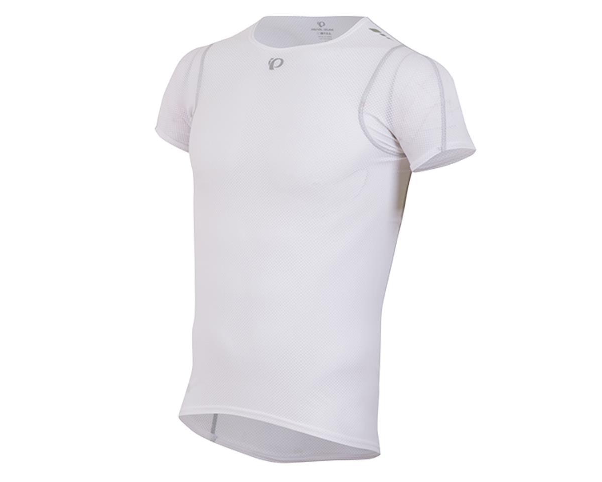 Pearl Izumi Transfer Lite Short Sleeve Cycling Base Layer (White)