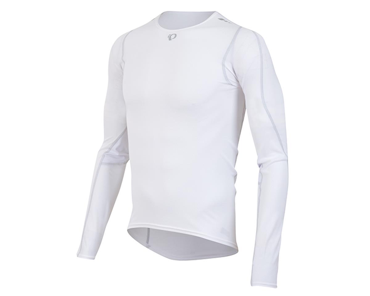 Pearl Izumi Transfer Long Sleeve Cycling Base Layer (White)