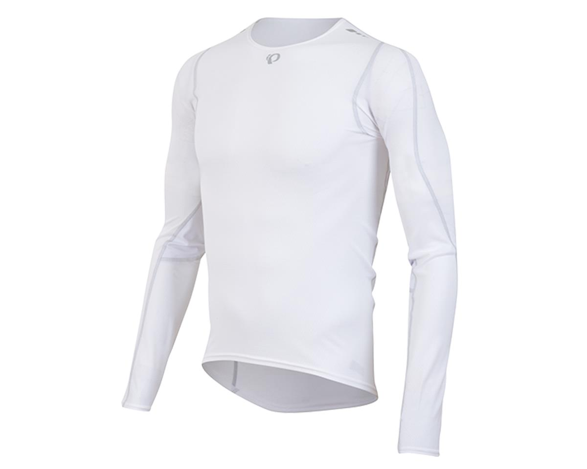 Pearl Izumi Transfer Long Sleeve Cycling Base Layer (White)