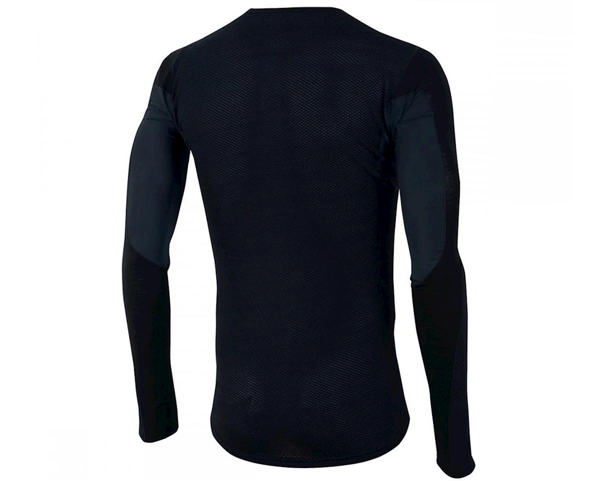 Pearl Izumi Transfer Wool Long Sleeve Cycling Base Layer (Black)