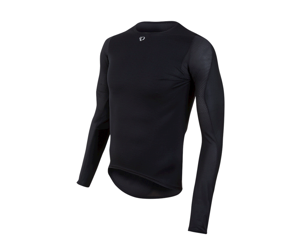 Pearl Izumi Men's Transfer Long Sleeve Baselayer (Black)