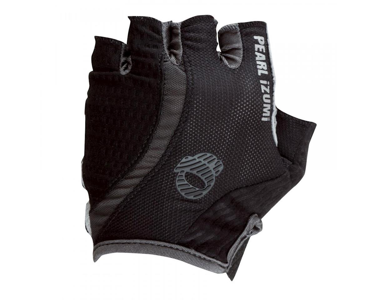 Pearl Izumi Elite Gel-Vent Short Finger Bike Gloves (White) (Black) (XL)