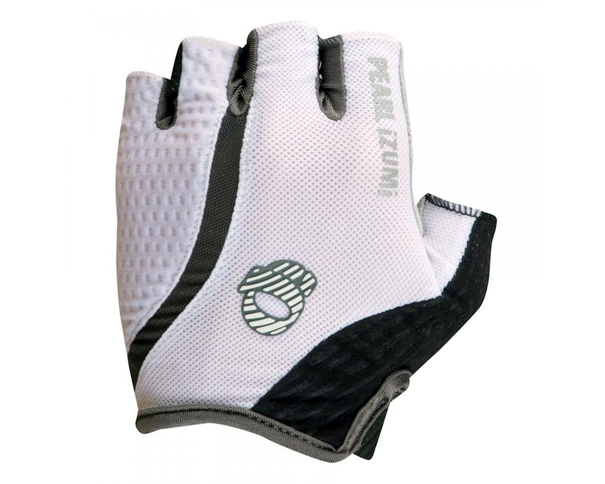 Pearl Izumi Elite Gel-Vent Short Finger Bike Gloves (White) (2XL)