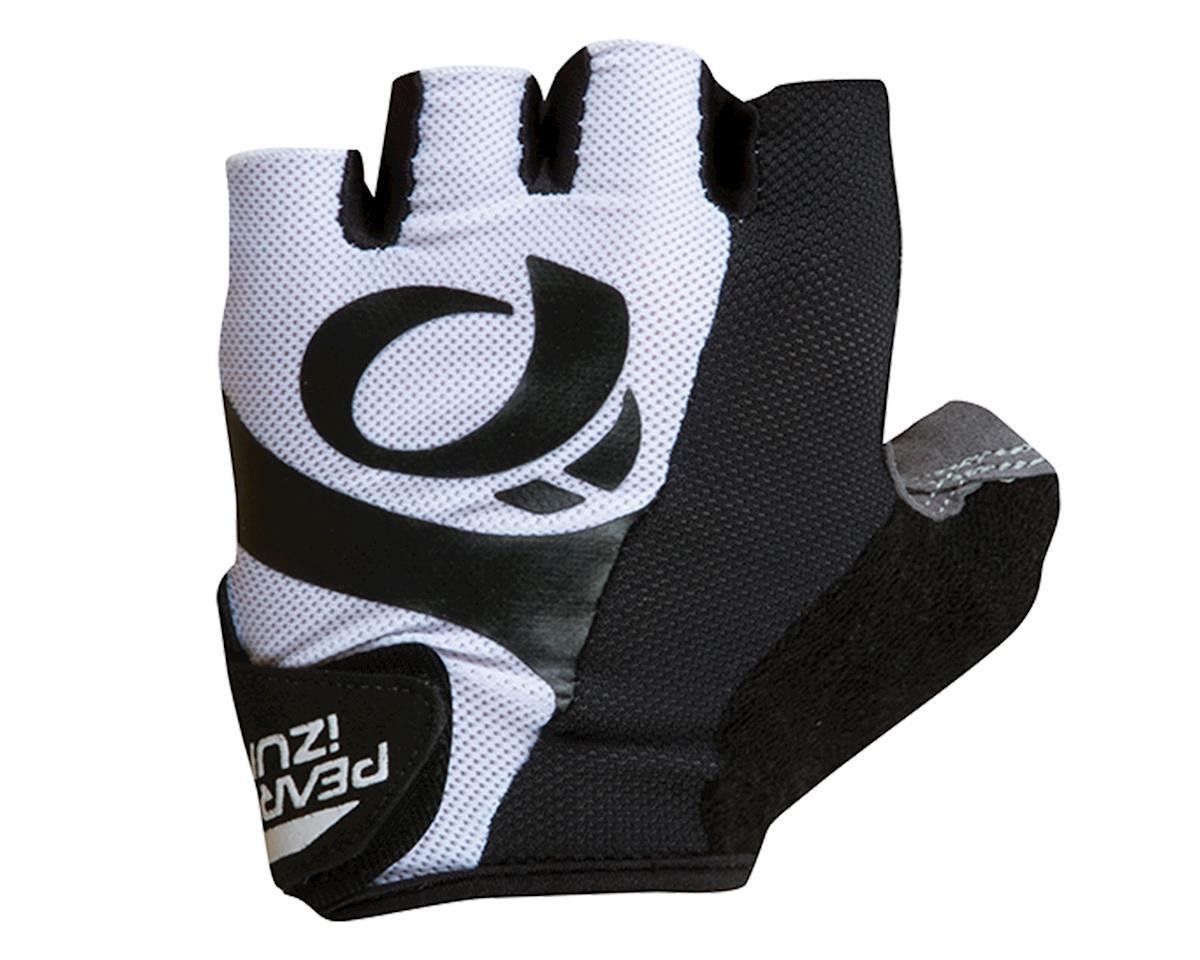 Select Short Finger Bike Gloves (White)