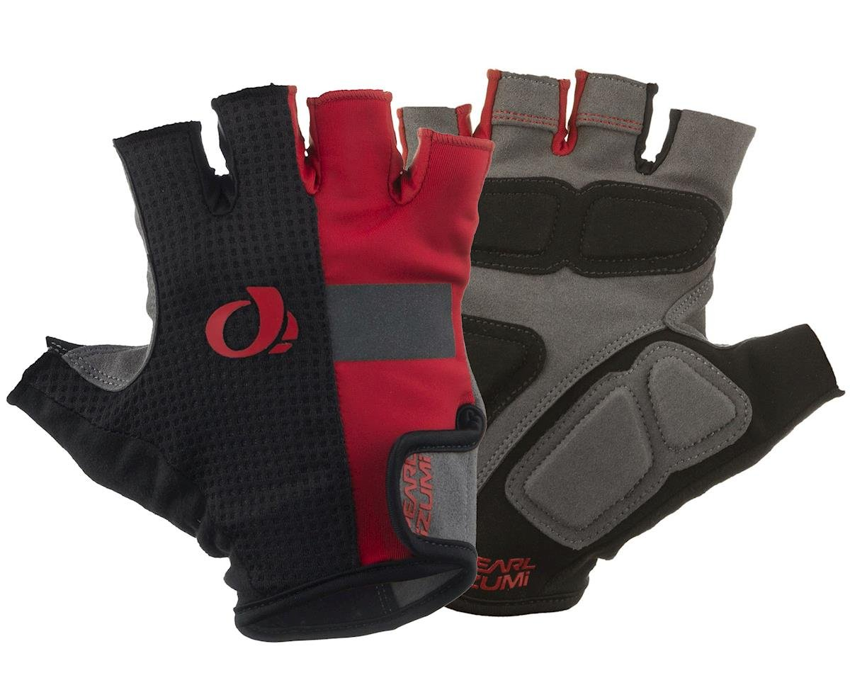 Pearl Izumi Elite Gel Cycling Gloves (Red) (S)