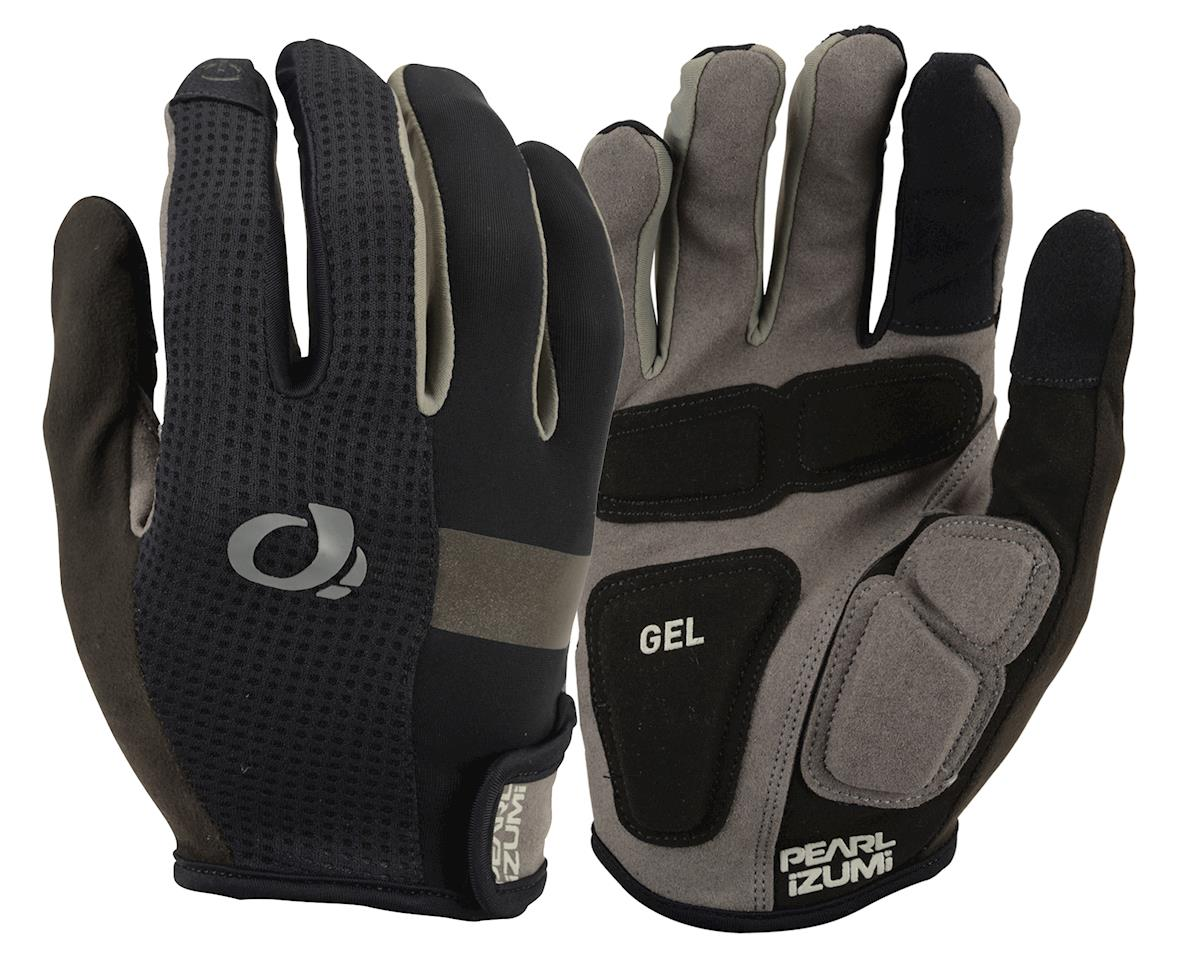Image 1 for Pearl Izumi Elite Gel Full Finger Gloves (Black) (XL)
