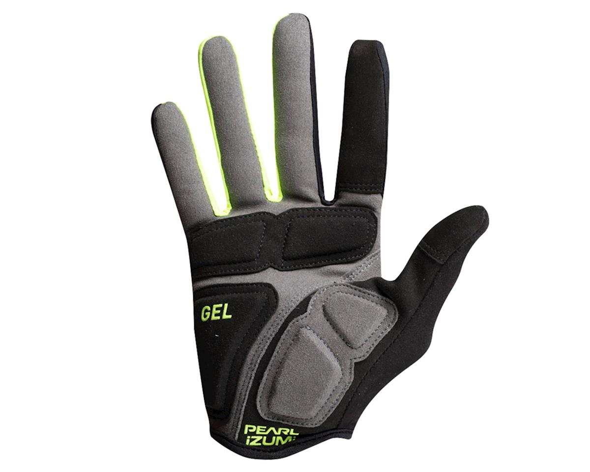Pearl Izumi Elite Gel Full Finger Glove (Black/Screaming Yellow) (2XL)